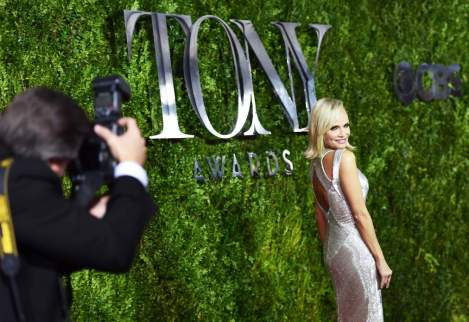 Kristen Chenoweth attends the 2015 Tony Awards at Radio City Music Hall on June 7, 2015 in New York City. [Getty Images]